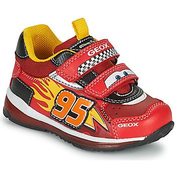 Skor Pojkar Sneakers Geox TODO Röd / Gul
