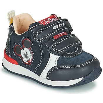 Skor Pojkar Sneakers Geox RISHO Marin