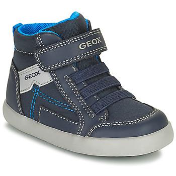 Skor Pojkar Höga sneakers Geox GISLI Marin