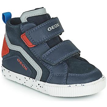 Skor Pojkar Höga sneakers Geox KILWI Blå
