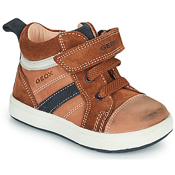Skor Pojkar Höga sneakers Geox BIGLIA Brun