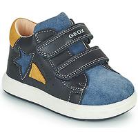Skor Pojkar Sneakers Geox BIGLIA Marin