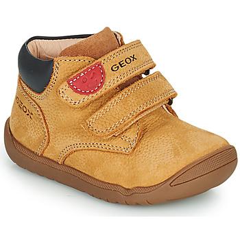 Skor Pojkar Boots Geox MACCHIA Brun