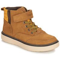 Skor Pojkar Boots Geox RIDDOCK WPF Kamel