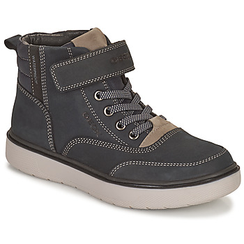 Skor Pojkar Boots Geox RIDDOCK WPF Marin