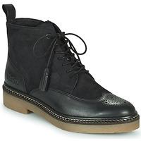 Skor Dam Boots Kickers OXANYHIGH Svart