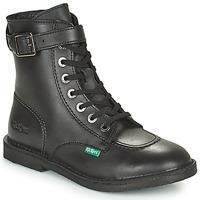 Skor Dam Boots Kickers KICK TREND Svart