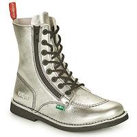 Skor Dam Boots Kickers MEETICKZIP Silverfärgad