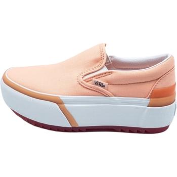 Skor Dam Slip-on-skor Vans Classic Slip-On S Rosa