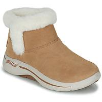 Skor Dam Boots Skechers GO WALK ARCH FIT Brun
