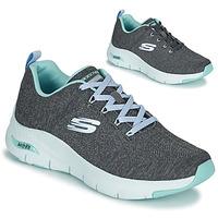 Skor Dam Sneakers Skechers ARCH FIT Grå / Blå