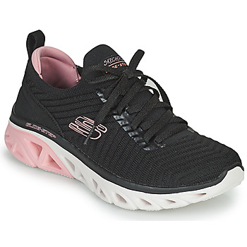 Skor Dam Sneakers Skechers GLIDE-STEP SPORT Svart / Rosa