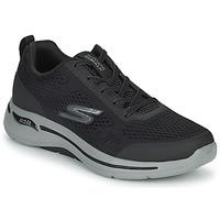 Skor Herr Sneakers Skechers GO WALK ARCH FIT Svart