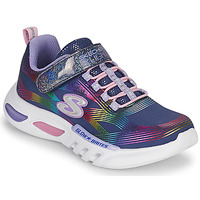 Skor Flickor Sneakers Skechers GLOW-BRITES Marin / Led