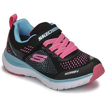 Skor Flickor Sneakers Skechers ULTRA GROOVE Svart / Rosa / Blå