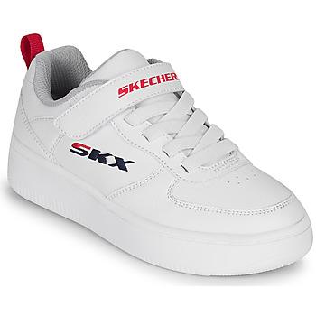 Skor Barn Sneakers Skechers SPORT COURT 92 Vit