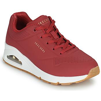 Skor Dam Sneakers Skechers UNO STAND ON AIR Röd