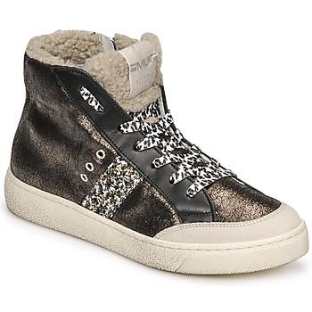 Skor Dam Höga sneakers Meline CAR1425 Svart
