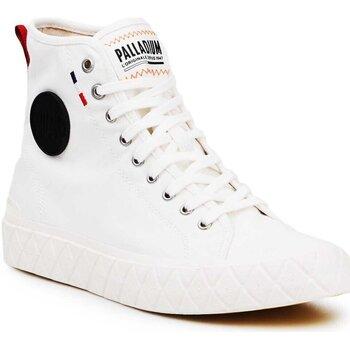 Skor Höga sneakers Palladium Ace CVS MID U 77015-116 kremowe