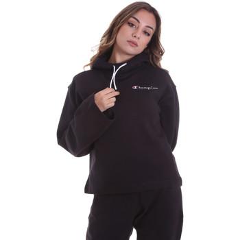 textil Dam Sweatshirts Champion 113186 Svart