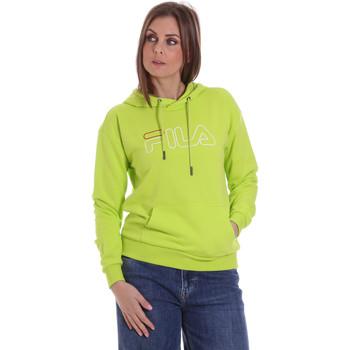 textil Dam Sweatshirts Fila 683502 Grön