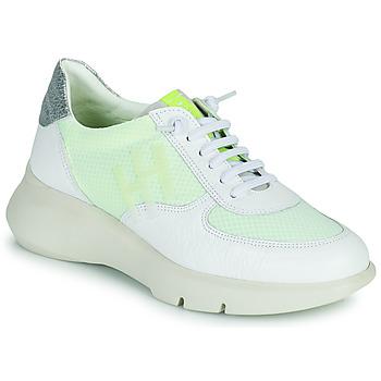 Skor Dam Sneakers Hispanitas CUZCO Vit / Gul