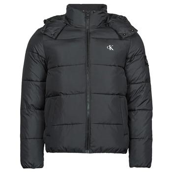 textil Herr Täckjackor Calvin Klein Jeans ESSENTIALS NON DOWN JACKET Svart