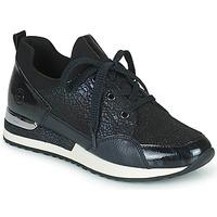 Skor Dam Sneakers Remonte Dorndorf ANITAS Svart / Vit