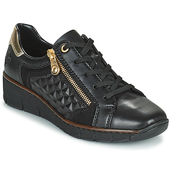 Skor Dam Sneakers Rieker THOMANISA Marin