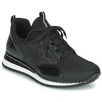 Skor Dam Sneakers Rieker REGARDA Svart