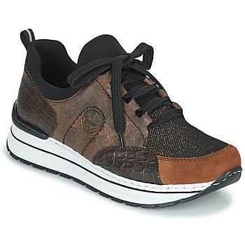 Skor Dam Sneakers Rieker TEMPORA Brun