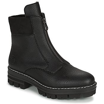 Skor Dam Boots Rieker QUAMIN Svart