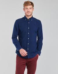 textil Herr Långärmade skjortor Polo Ralph Lauren TRENNYB Sammet / Blå