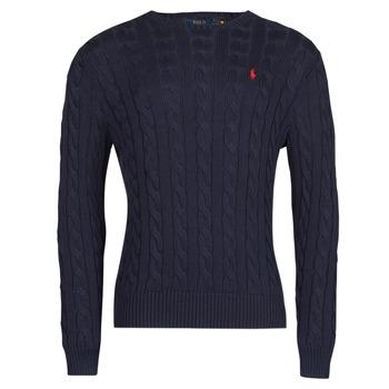 textil Herr Tröjor Polo Ralph Lauren KINNU Blå