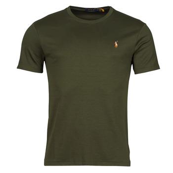 textil Herr T-shirts Polo Ralph Lauren TEKAMO Kaki