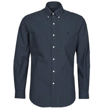 textil Herr Långärmade skjortor Polo Ralph Lauren RENIMA Grön / Blå