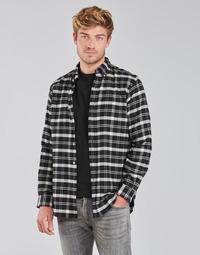 textil Herr Långärmade skjortor Polo Ralph Lauren PERINE Svart