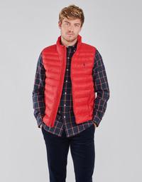 textil Herr Täckjackor Polo Ralph Lauren PEROLINA Röd