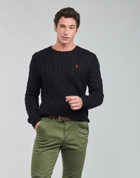textil Herr Tröjor Polo Ralph Lauren SERINA Svart