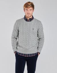 textil Herr Tröjor Polo Ralph Lauren SERINA Grå