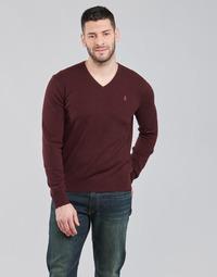 textil Herr Tröjor Polo Ralph Lauren SOLIMMA Bordeaux