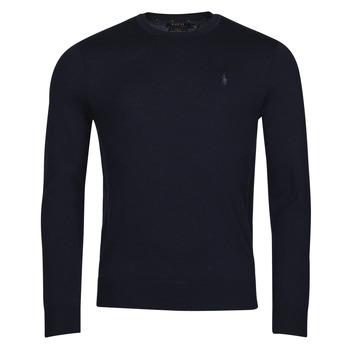 textil Herr Tröjor Polo Ralph Lauren AMIRAL Blå
