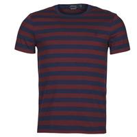textil Herr T-shirts Polo Ralph Lauren POLINE Marin / Bordeaux