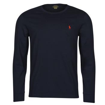 textil Herr Långärmade T-shirts Polo Ralph Lauren DRENNI Marin