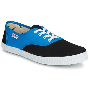 Skor Sneakers Victoria INGLESA BICOLOR Blå / Svart