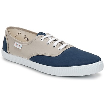 Skor Sneakers Victoria INGLESA BICOLOR Beige / Petrolium