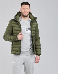 textil Herr Täckjackor Superdry CLASSIC FUJI PUFFER JACKET Olivfärgad