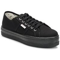 Sneakers Victoria BLUCHER LONA PLATAFORMA