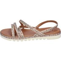 Skor Dam Sandaler Femme Plus BJ888 Beige