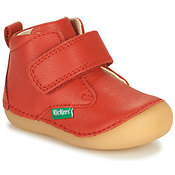 Skor Barn Boots Kickers SABIO Röd